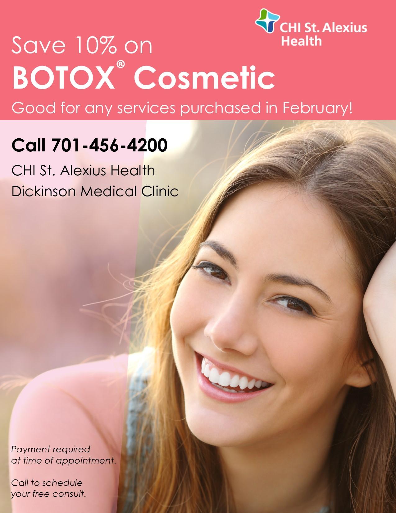 Botox Cosmetic Chi St Alexius Health