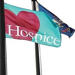 Hospice Flag Raising