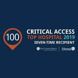 Carrington Named as a 2019 Top 100 Critical Access Hospital