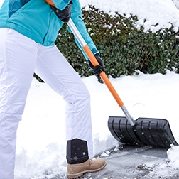 Be Smart When Shoveling Snow