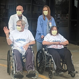 Mandan Couple the First in North Dakota to Have Coronavirus Treated by Plasma