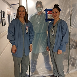 Bismarck nurses steeled for COVID-19 patient care