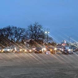 Parking Lot Prayer Warriors