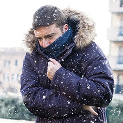 Your health first staying warm and avoiding frostbite