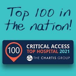 Garrison Among Top 100 Critical Access Hospitals