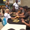 Family fun day with the Bismarck Larks