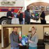 Pay It Forward Recipients: FCI Constructors Inc, Williston Fire Department  and Oasis Petroleum